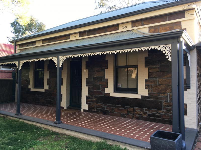 Historic blue stone house
