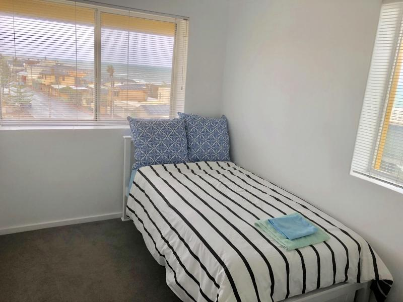 Guest Bedroom, King Single bed, wardrobe, great views, natural light