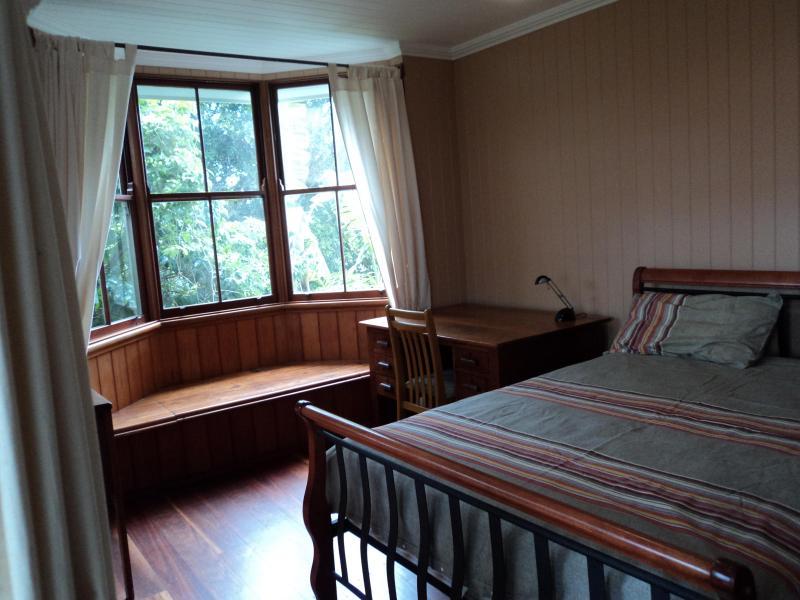 The bay window room