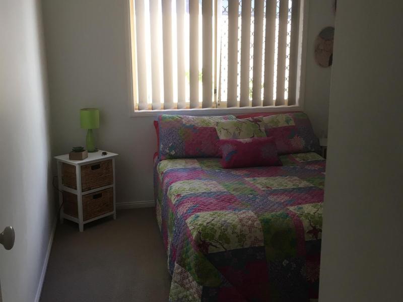 Double bedroom desk, robe drawers oppisite private bathroom