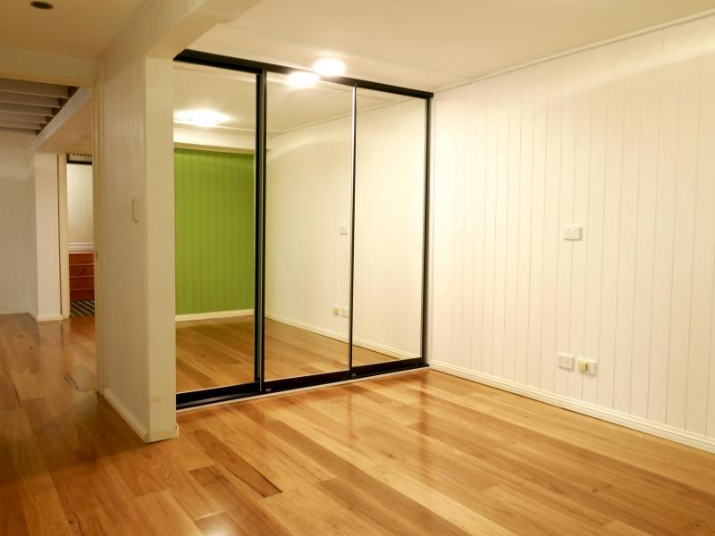 bedroom and built-in robe