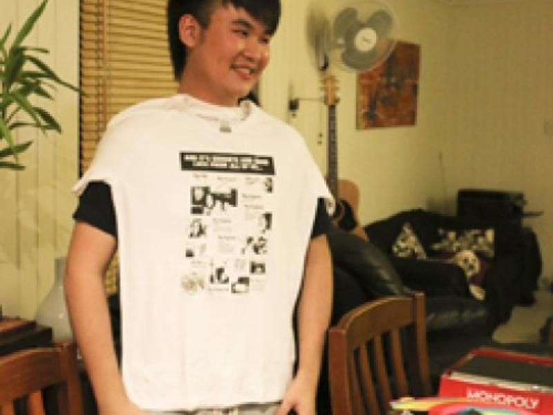 Raymond our first T'Shirt winner