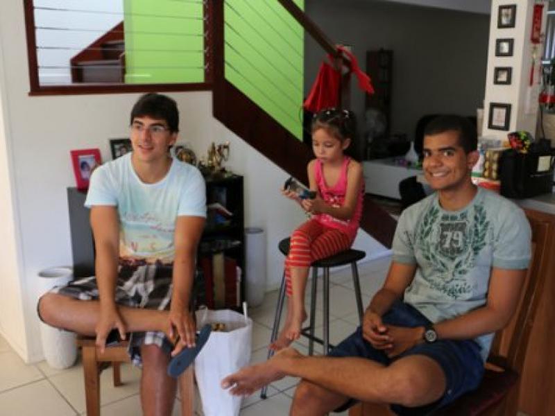 A Brazilian Student Christmas 2013