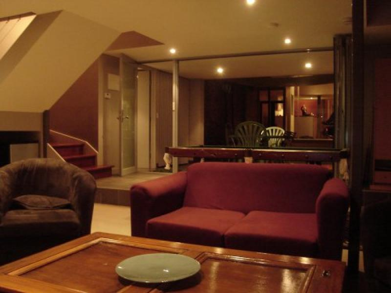 downstairs student lounge