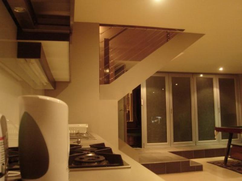 downstairs student kitchen