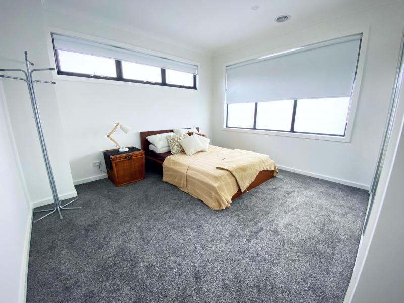 Bedroom (includes built in wardrobe, desk if needed)