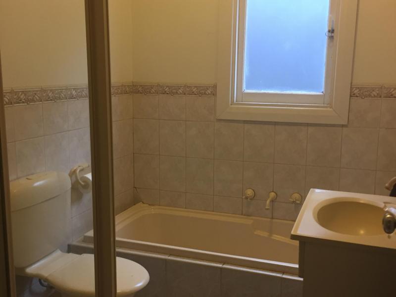 Tenants shared bathroom