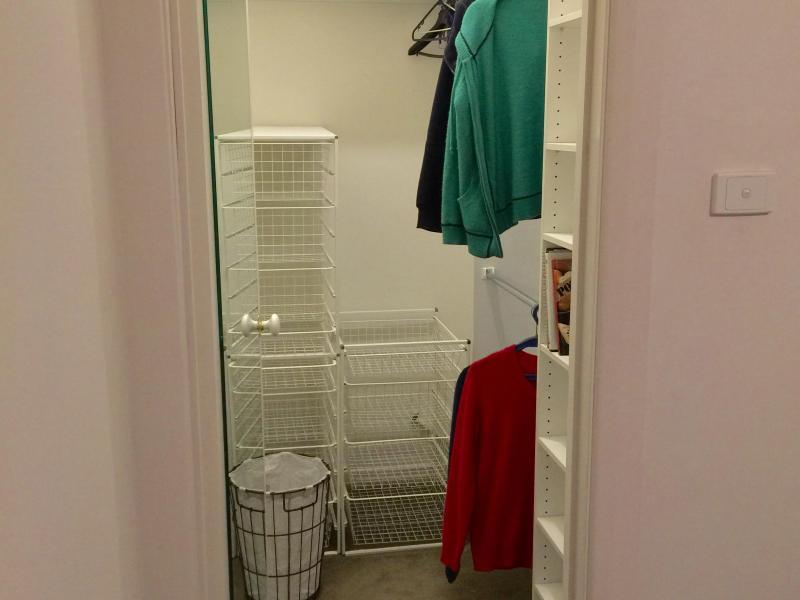 Bedroom 2 walk in wardrobe