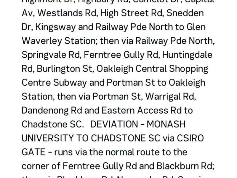 742 Bus stops