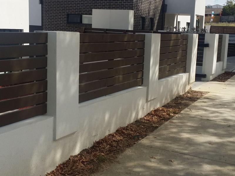 Footpath of 1 of 10 Townhouses