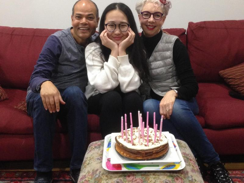 Yet another birthday, of one of our precious girls, we DO love to celebrate birthdays.