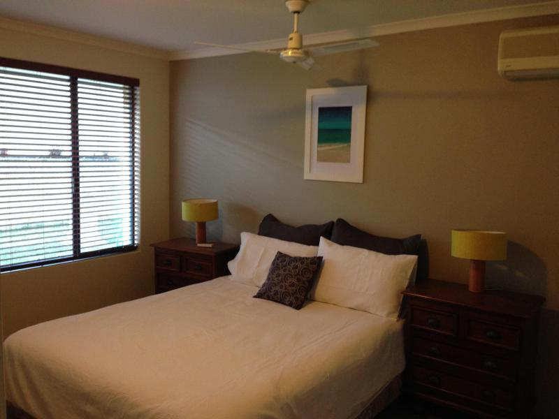 Bedroom with double bed & built in robe