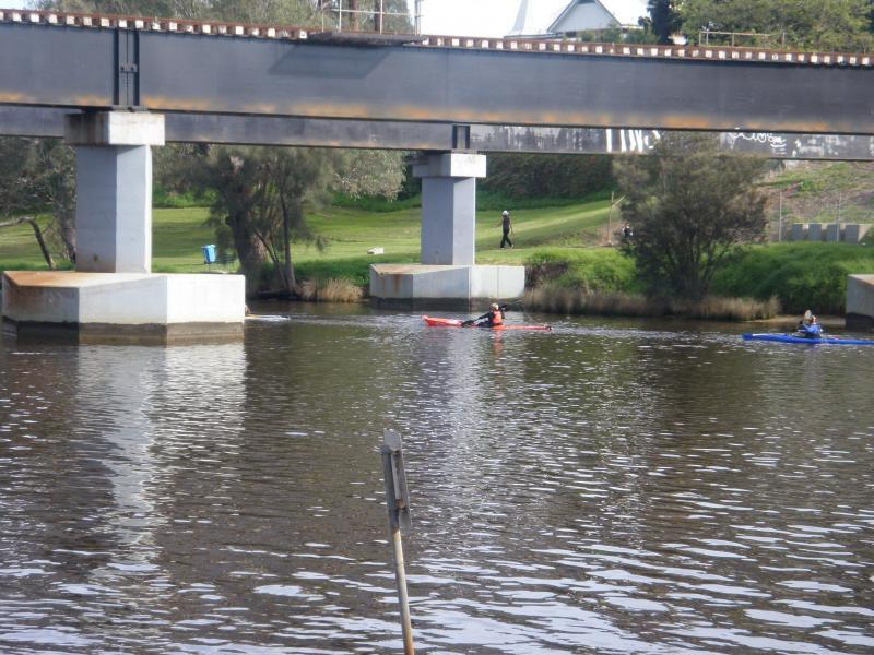 Kayaking (Avon Descent) on the Swan River at Bassendean/Guildford
