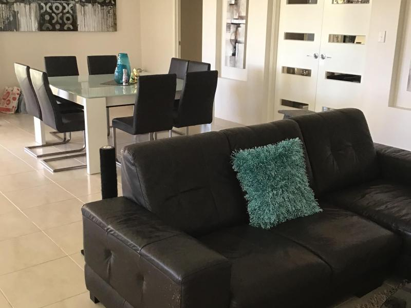 Spacious shared living area