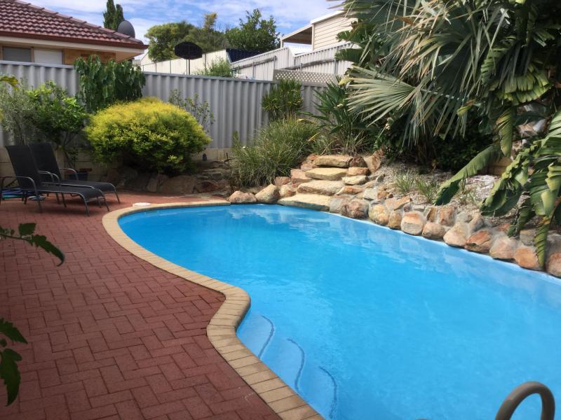Below ground swimming pool - heated