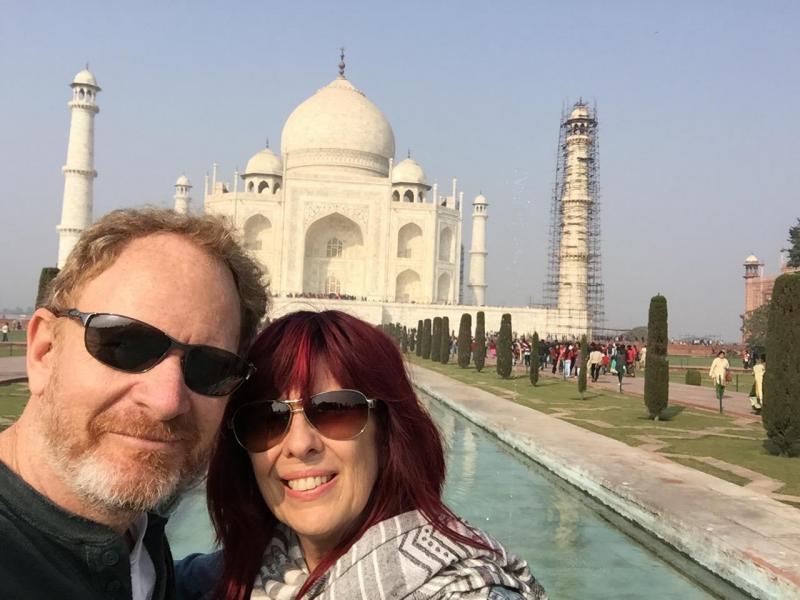 Annette & Chris India