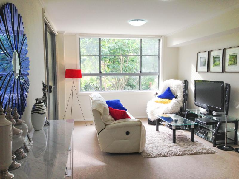 Modern living room. High quality furnitures. Air conditioned.