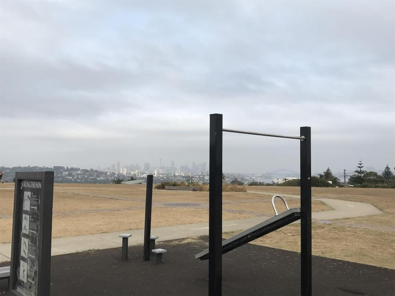 work out with great views