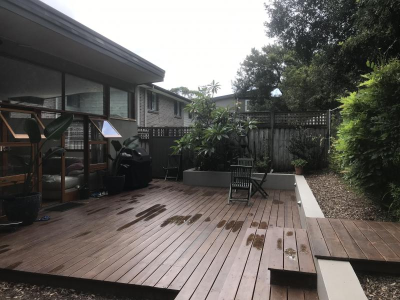 Back Deck area