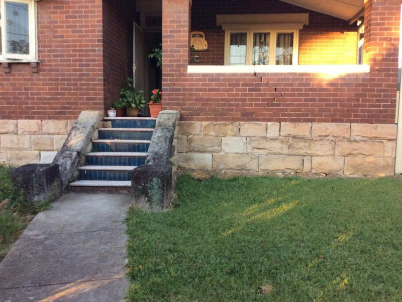 Front yard and entrance