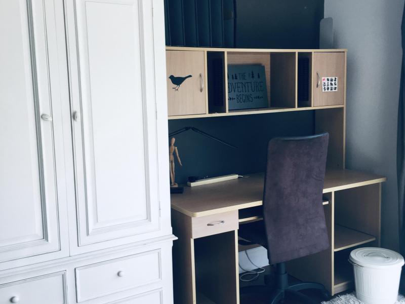 Study desk and Amoir robe