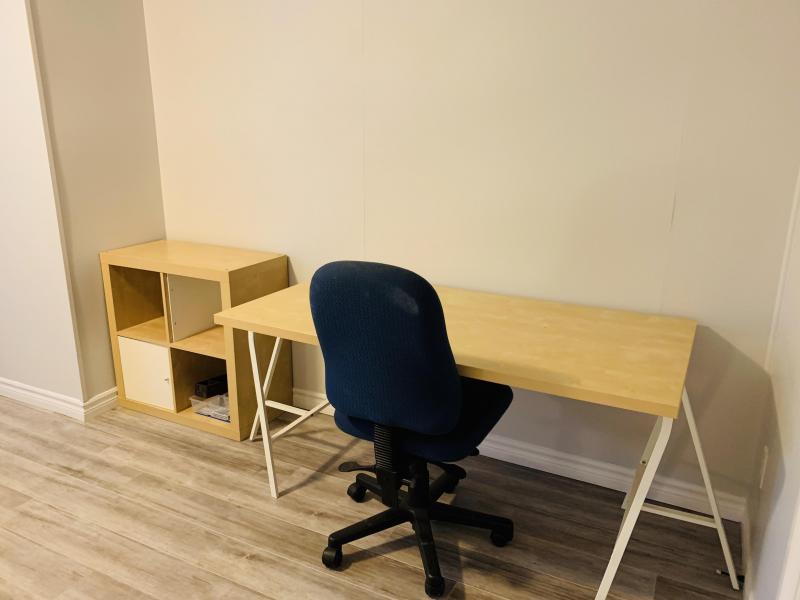Student room #1  desk