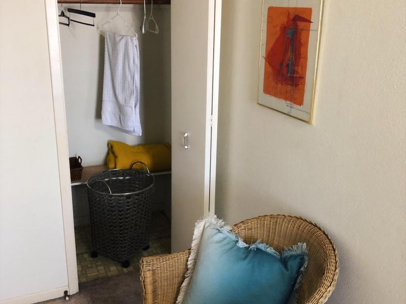 Mint Room Closet Space