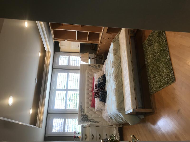 White princess bedroom suite King size bed $450/W