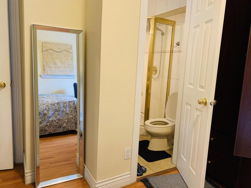Room 1(Full Sized Mirror and own bathroom)