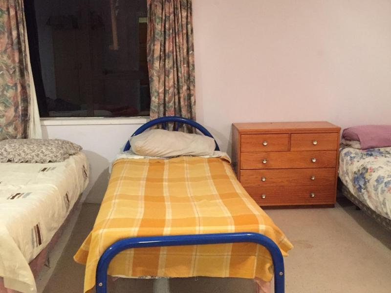 This picture is of more single beds from the dormitory room.