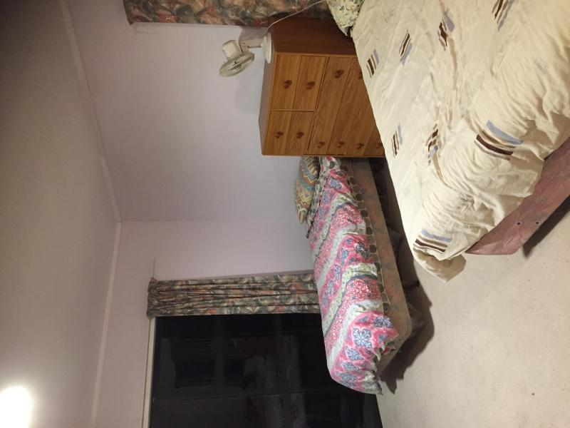 This picture shows two beds from our 5 bed Dormitory room!!
