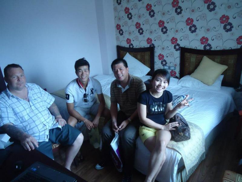 Meeting homestays in Vietnam who stayed with us