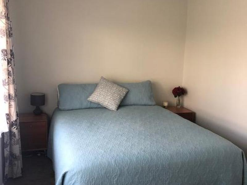 Double room with Queensized bed, all linen and furniture provided