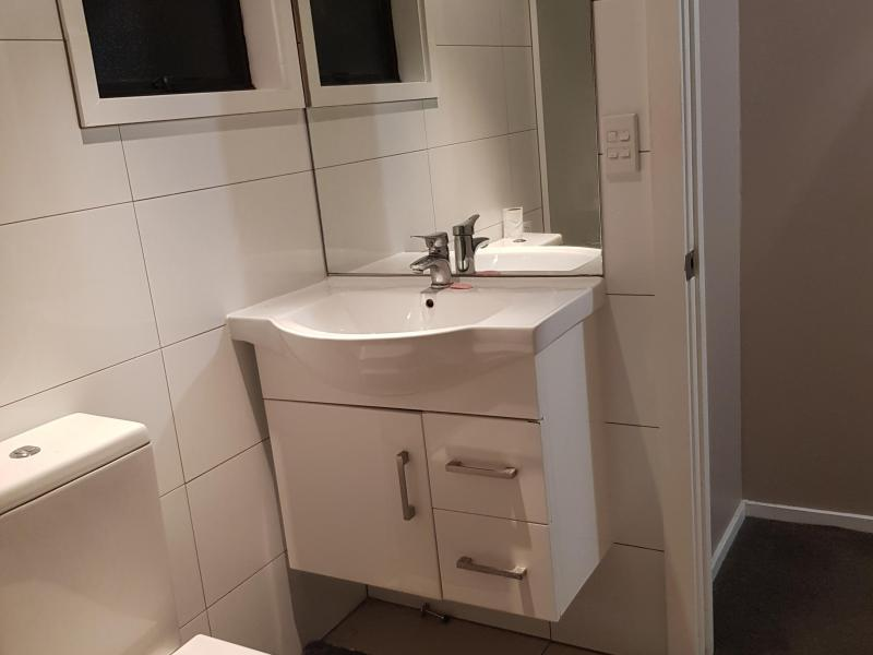 Shared bathroom in 2 bedroom separate unit.