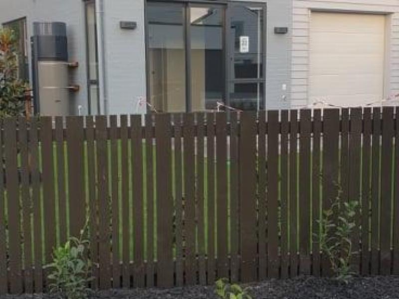 Rear with backyard