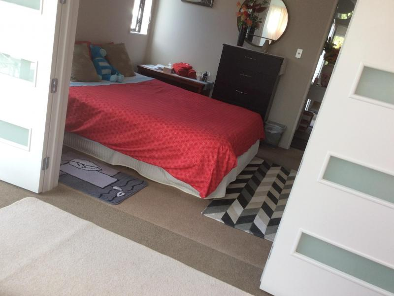 Double room attached to Single bed room