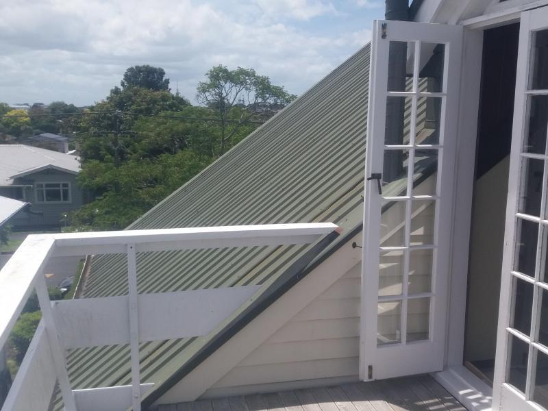 Upstairs deck off bedrooms