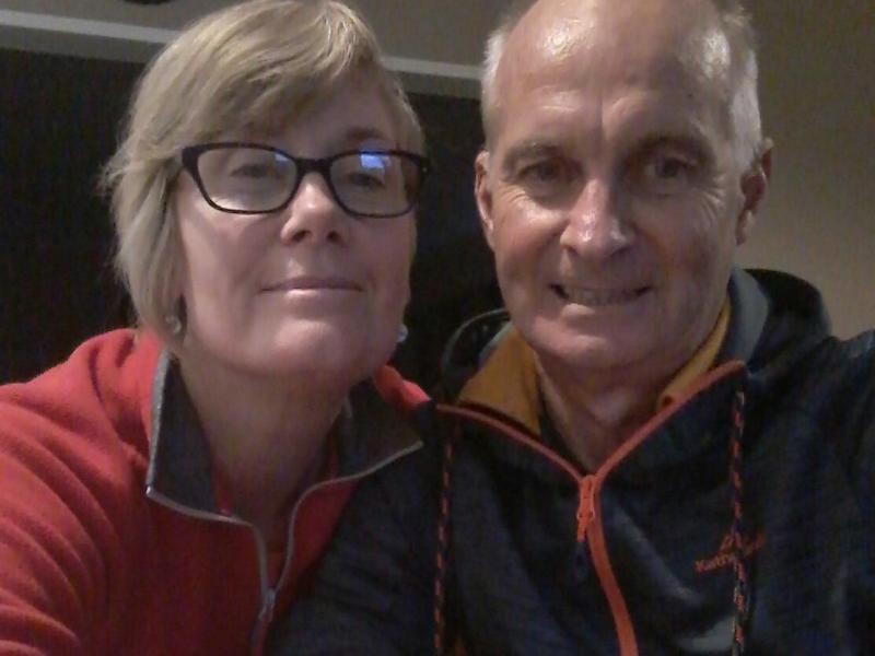 Hosts Diana and Steve