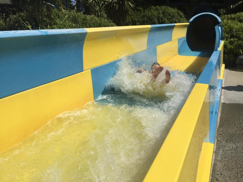Day trip - Waterslide at Hanmer Springs