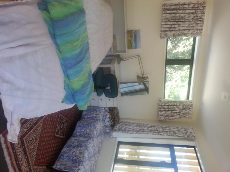 bedroom alcove fully furnished and private