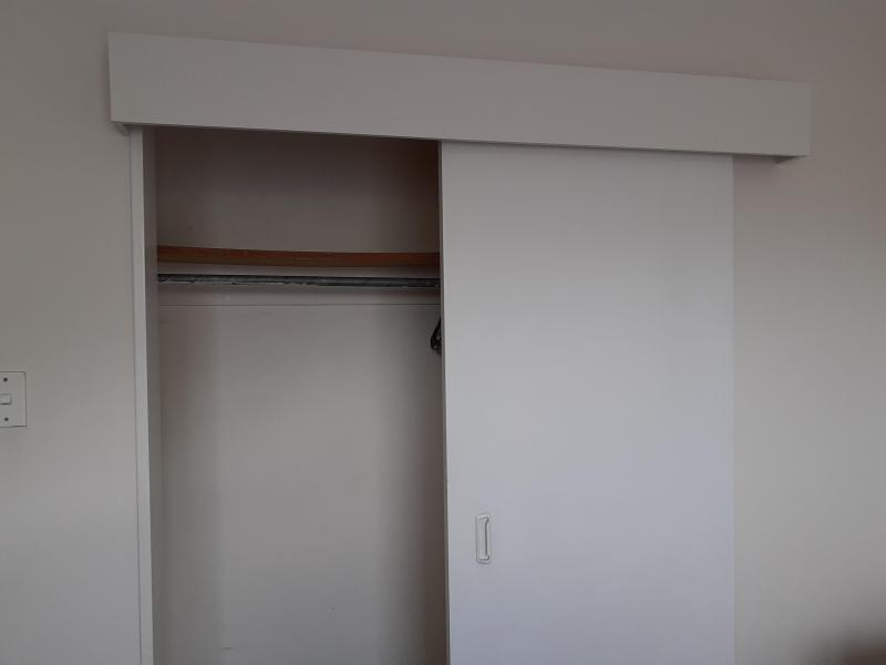 Wardrobe with extra storage