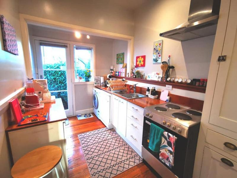 Kitchen where I enjoy cooking up healthy vegan/vegetarian meals!
