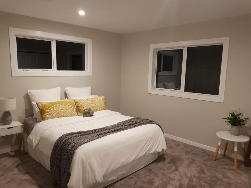 Double bed shown