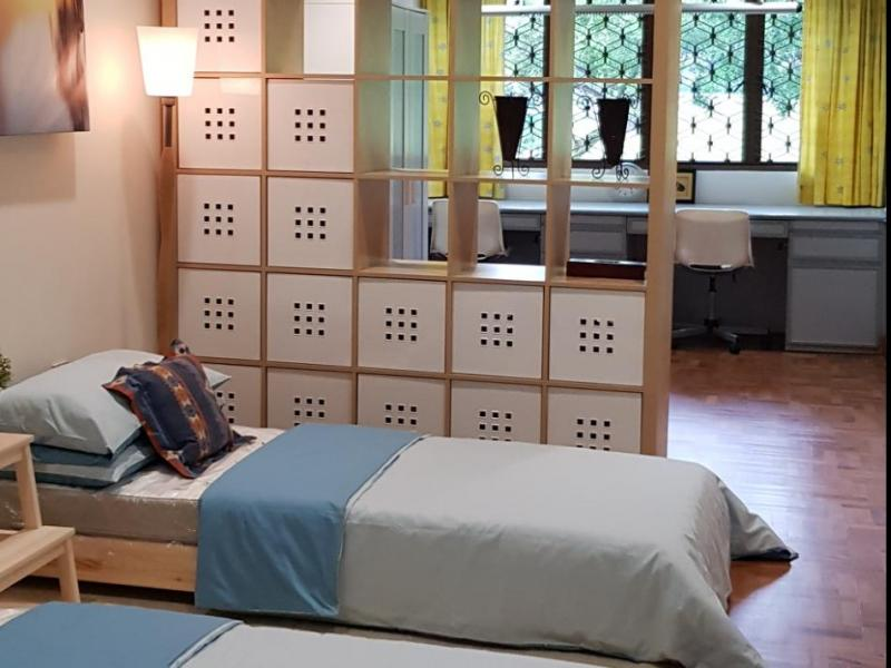 Very Large Bedroom with 2 Brand New Single Beds