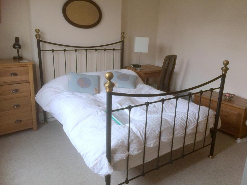 Double room available as a single but with a surcharge for a couple.