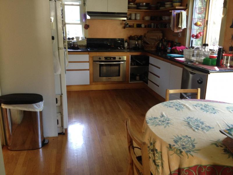 KITCHEN- Eat in kitchen, dishwasher, garbage disposal, gas stove, storage